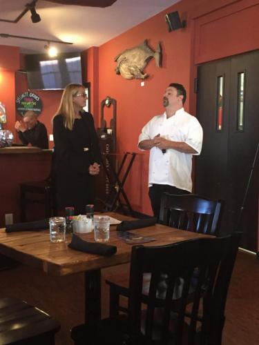 Marji Graf and Murdock's on the Green Chef