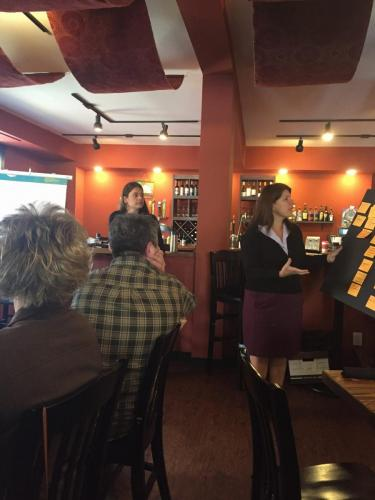 Okemo Valley Chamber Presentation at Murdock's on the Green
